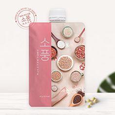 상세 페이지 | (주)알알이푸드 | 라우드소싱 포트폴리오 Tea Packaging, Brand Packaging, Packaging Design, Label Design, Print Design, Identity Design, Okra, Inspiration, Bag Packaging