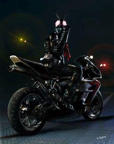 バイクと強化された肉体だけなのに、誰も超える事ができない存在。