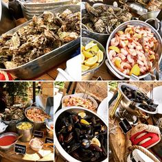 Wedding Catering, Wedding Events, Mussels, Pasta Salad, Shrimp, Cocktails, Herbs, Ethnic Recipes, Food