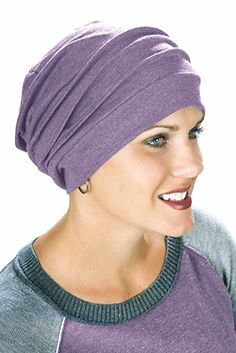 554d262dde9 Headcovers Unlimited 100 Cotton Slouchy Snood Slouchy Beanie Hat Cancer Hats  for Chemo
