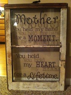 Requested Mom's Day Gift...