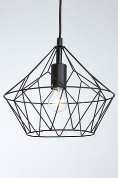Bilderesultat for antikk kjetting Industrial Chic, Lamp Design, White Walls, Lamp Light, Light Fixtures, Building A House, Sweet Home, Ceiling Lights, Lighting