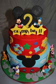 Cake - Mickey Mouse Clubhouse