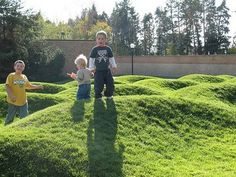 playscapes: Maya Lin's Wavefield should be a playground...