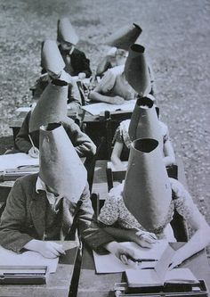 Vintage anti-cheating method :D