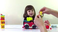 Пожарная машина Плей До, видео для детей про игрушки Fire engine Play Do...