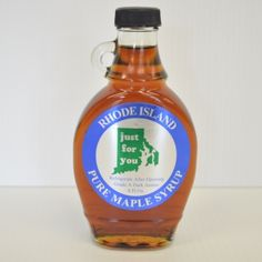 Try this rich & delicious amber colored maple syrup made right here in Coventry, Rhode Island by Charlies Sugarhouse.