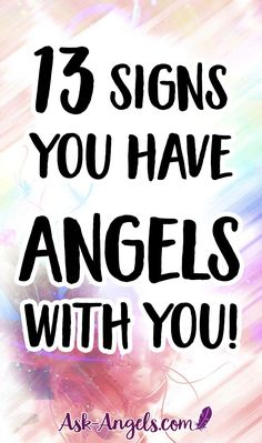 Angel Signs ~ 13 Signs Your Angels Are With You! Guardian Angel Tattoo, Your Guardian Angel, Angels Tattoo, Guardian Angel Quotes, Spiritual Guidance, Spiritual Awakening, Spiritual Meaning, Real Angels, Angels Among Us