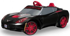 Kids ride on sport car corvette toy vehicle outdoor power wheels cool black Power Wheels, Kids Ride On, Electric Scooter, Sport Cars, Corvette, Toys, Vehicles, Sports, Scooters