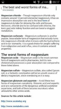 Magnesium deficiency is often misdiagnosed because it does not ...