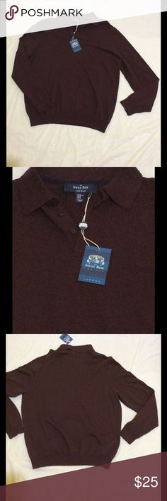 Savile Row Men Long Sleeve Pique Polo With Stretch A Burgundy fine-gauge pique polo shirt an off-duty favourite, made to our exacting standards. Weve upped our game this season adding a touch of stretch for comfort and even better shape retention. Weekend-ready style at its finest. 100% cotton Savile Row Company  Shirts Polos
