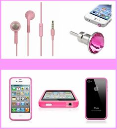 Fun Pink iPhone Bundle  - Save 68% Just $13.00