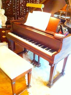 Sohmer baby grand piano at online only auction.  Auction ends July 24th.  Pick up date is July 26th.  Furniture, decor, furs, and art at auction.  Ayers Auction and Real Estate, Oneida, Tn. 423-569-7922.  Pick up location is Farragut, Tn. no shipping available.  15% buyer's Premium. Lic#3949.