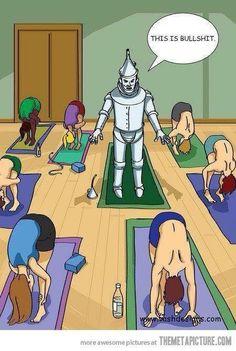 How I feel in yoga
