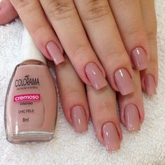 Perhaps you have discovered your nails lack of some modern nail art? Sure, recently, many girls personalize their nails with beautiful … Elegant Nails, Classy Nails, Stylish Nails, Trendy Nails, Make Up Inspiration, Nails Inspiration, Toe Nails, Pink Nails, French Gel