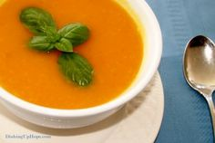 Butternut Squash Soup. Hearty and healthy. Gluten-free, Dairy-free!