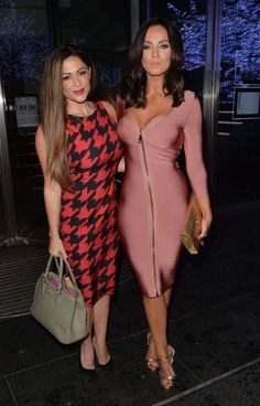 Casey Batchelor and Vicky Pattison Night Out in Mayfair : Global Celebrtities…