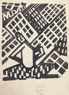 """FLOUQUET (Pierre-Louis). - """"Charlie Charlot Chaplin"""" (v. 1922-1925). - Lavis sur [...], Livres, Photos, Peintures, Dessins et Gravures à Les Ventes Ferraton – Damien Voglaire"""