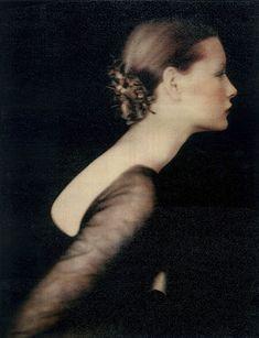 Kirsten as Juliet - Polaroid print by Paolo Roversi.
