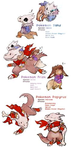 Undertale Mystery Dungeon Au sans papyrus frisk by Daffupanda on DeviantArt <<<< I love this! It's super cute!