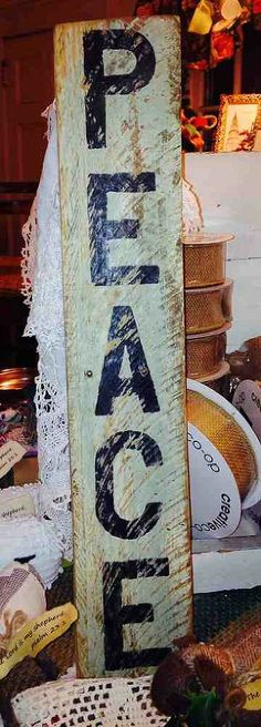 Pallet Wood Signs