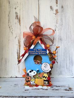It's the Great Pumpkin CHARLIE BROWN by BirdhouseGiftGallery, $20.00