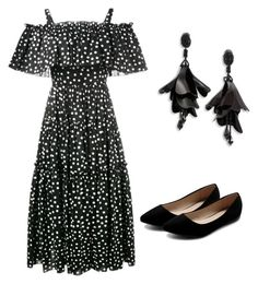 """Mila's party wear"" by milathesmartie on Polyvore featuring Dolce&Gabbana, Ollio and Oscar de la Renta"