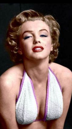 {Colorized} Photographed by Philippe Halsman;1952