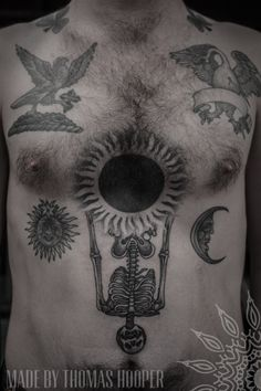 Occult tattoo (Made by Thomas Hooper Texas 2012)