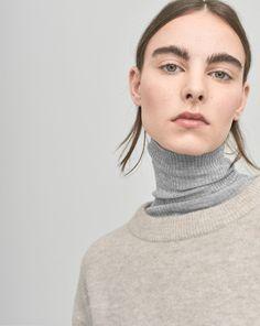 Cozy Wool Pullover Dove - Knitwear - Shop Woman - Filippa K
