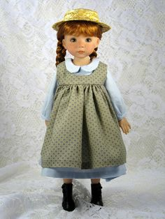 Anne in her arrival pinafore and outfit | Flickr - Photo Sharing!