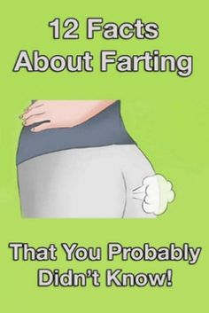 12 Facts About Farting You Probably Didn't Know (VIDEO) #facts #about #farting #lifestyle