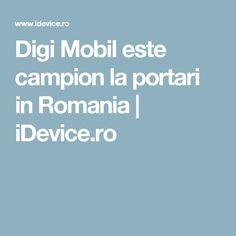 Digi Mobil este campion la portari in Romania | iDevice.ro