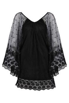 Felicity Lace Batwing Dress