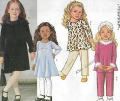 Uncut Child Size 6-8 Sewing Pattern Butterick by ItsSewVintage