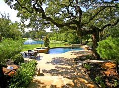 Luxury Home Magazine Dallas/Ft. Worth #LuxuryHomes #Backyards #Pools #Landscaping (www.tracyotsuka.com)