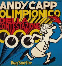 Reg Smythe - Andy Capp: Olimpionico della contestazione