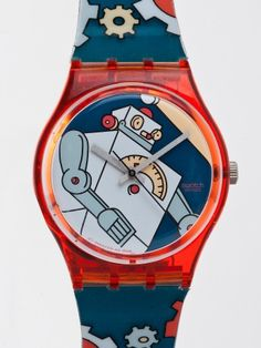 Vintage Swatch Roboboy Watch