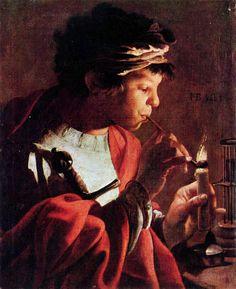 Muchacho con pífano - Hendrick Jansz Terbrugghen (1623)