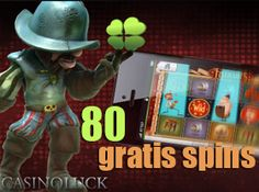 Casino Luck 80 gratis spins