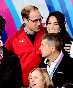 William and Kate at the Wales vs England rugby game.