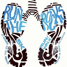 """""""T-shirt design for the contest for Run the 'Rocks 5k in Colorado"""" by mariahgarlitos via Instagram"""