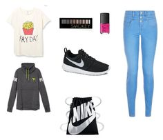 """Untitled #2"" by virike on Polyvore featuring Victoria's Secret, NIKE, NARS Cosmetics and Forever 21"