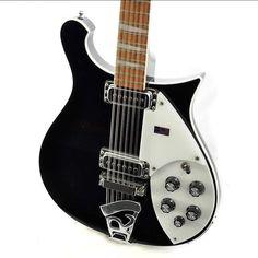 Rickenbacker Guitar, 12 String Guitar, Guitar Pickups, Cool Guitar, Midnight Blue, Markers, Wave, Music, Electric