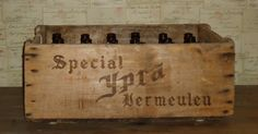 Belgium Beer Bottles & Crate