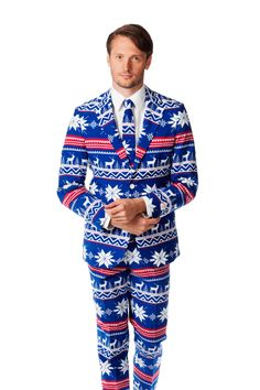 Shinesty has released a line of three incredible suits inspired by ugly Christmas sweaters. The three designs are The Ugly Christmas Sweater Suit, the Holiday Tree Suit, and The Rudolph. Do you rem...