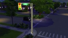 TRAFFIC LIGHTS at Leo Sims • Sims 4 Updates