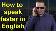 How to speak faster in English - Learn English Live 15 with Steve Ford