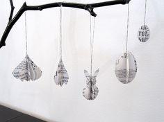 Osterhasen - Osterhase _ Anhänger - ein Designerstück von renna-deluxe bei DaWanda