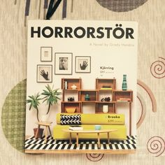 Current read: Horrorstor. Cover looks like an Ikea catalog but it's actually a horror novel 😊 📚📖 #horrorstor #novel #GradyHendrix #horror #book #read #Orsk